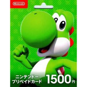 Nintendo Network Card / Ticket (1500 YEN...