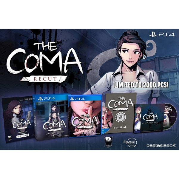 The Coma: Recut [Limited Edition] Play-Asia.com exclusive
