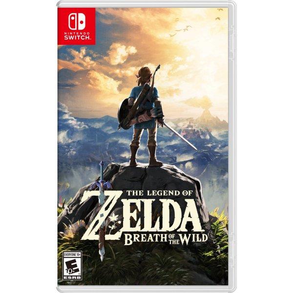 The Legend of Zelda: Breath of the Wild...