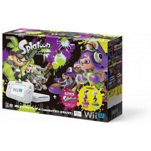 Wii U Splatoon Set with amiibo Splatoon ...